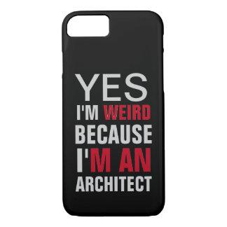 Coque iPhone 8/7 Je suis un architecte