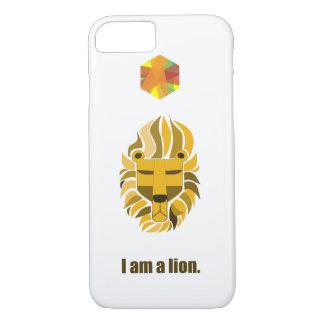 Coque iPhone 8/7 Je suis un lion