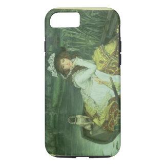 Coque iPhone 8/7 Jeune femme dans un bateau, ou réflexions, c.1870