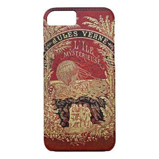 Coque iPhone 8/7 Jules Verne l'île mystérieuse