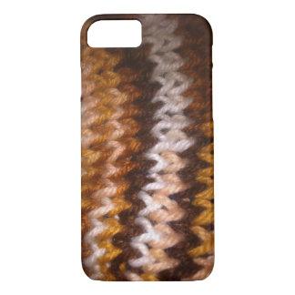 Coque iPhone 8/7 Knitted a conçu des cas de téléphone