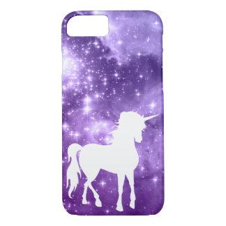 Coque iPhone 8/7 La magie pourpre cosmique tient le premier rôle la