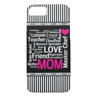 Coque iPhone 8/7 La maman est cadeau du jour de mère d'amour pour