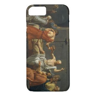 Coque iPhone 8/7 La mort de David de Socrates