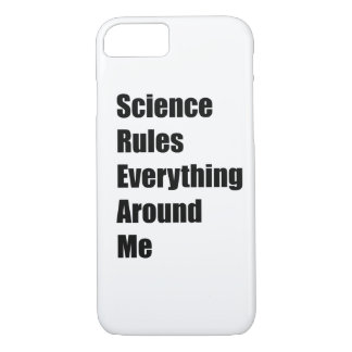 Coque iPhone 8/7 La Science ordonne tout autour de moi