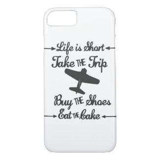 Coque iPhone 8/7 La vie est courte