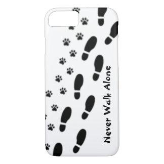 Coque iPhone 8/7 L'amoureux des chiens ne marchent jamais iPhone 7