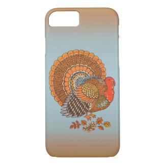 Coque iPhone 8/7 L'automne colore le thanksgiving de feuille de la