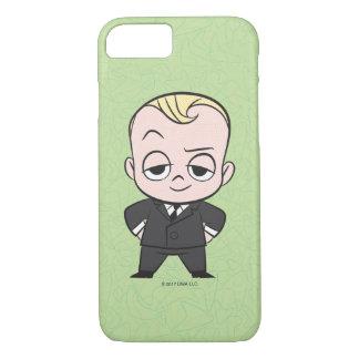 Coque iPhone 8/7 Le bébé de patron | je ne suis aucun bébé