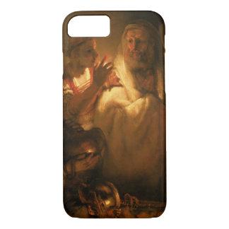 Coque iPhone 8/7 Le démenti de St Peter, 1660 (huile sur la toile)