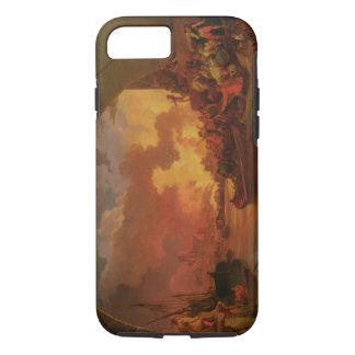 Coque iPhone 8/7 Le grand feu de Londres, c.1797 (huile sur la