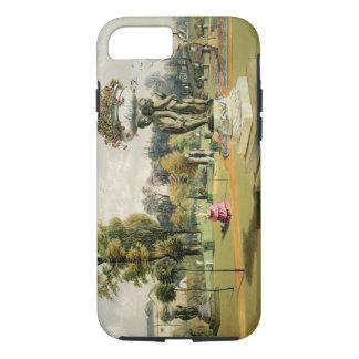 Coque iPhone 8/7 Le jardin de terrasse, abbaye de Woburn