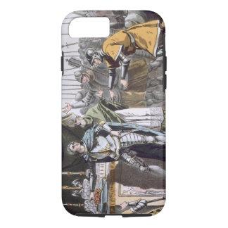 Coque iPhone 8/7 Le jour historique de Bouvines en 1214, gravé par