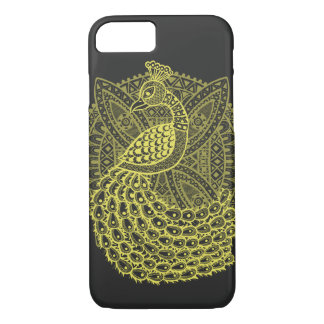 Coque iPhone 8/7 Le paon d'or