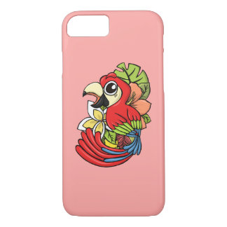 Coque iPhone 8/7 Le perroquet puissant