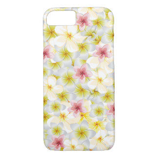 Coque iPhone 8/7 Le Plumeria m'aiment