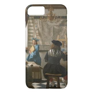 Coque iPhone 8/7 Le studio de l'artiste, c.1665-66 (huile sur la