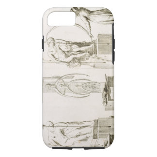 Coque iPhone 8/7 Le studio d'un sculpteur, c.1800 (gravure)