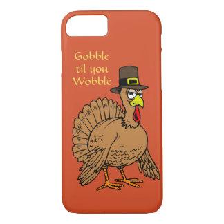 Coque iPhone 8/7 Le thanksgiving drôle avalent jusqu'à ce que vous