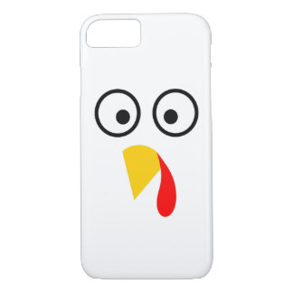 Coque iPhone 8/7 Le thanksgiving Turquie font face
