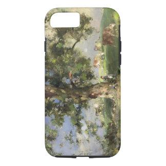 Coque iPhone 8/7 Le vieil arbre de cendre (huile sur la toile)