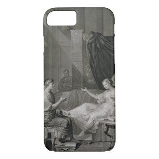 Coque iPhone 8/7 L'entrevue d'Augustus et de Cléopâtre, gravée
