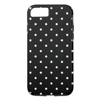 Coque iPhone 8/7 Les années '50 dénomment le point de polka noir et