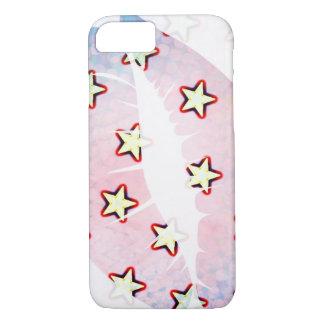 Coque iPhone 8/7 Lèvres et étoiles
