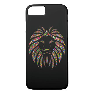 Coque iPhone 8/7 Lion de scintillement
