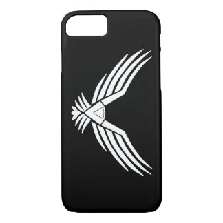Coque iPhone 8/7 L'iPhone blanc 7 d'Eagle enferment légèrement