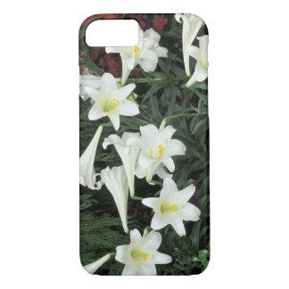 Coque iPhone 8/7 Lis de Pâques (le Lilium regale)
