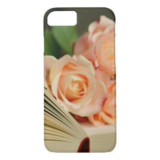 Coque iPhone 8/7 Livres et roses