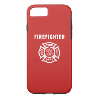 Coque iPhone 8/7 Logo de sapeur-pompier