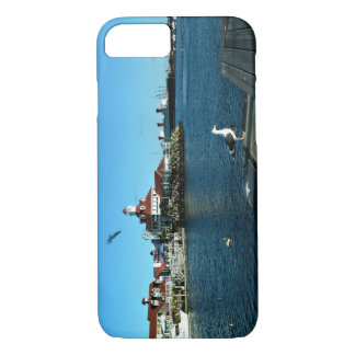 Coque iPhone 8/7 Long Beach : Queen Mary et village de Shoreline