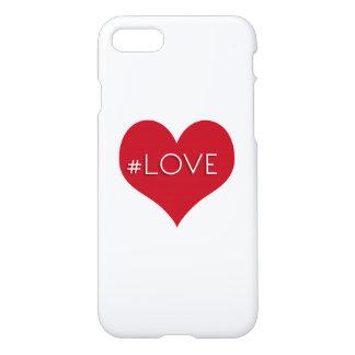 Coque iPhone 8/7 #Love et coeur 2