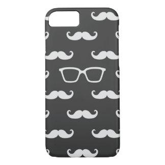 Coque iPhone 8/7 Lunettes de soleil et moustache
