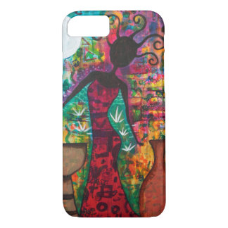 Coque iPhone 8/7 Madame africaine Phone Case