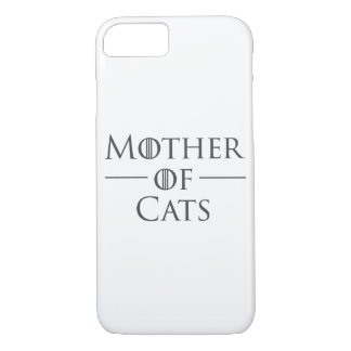 Coque iPhone 8/7 Mère des chats
