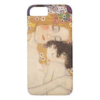 Coque iPhone 8/7 Mère et enfant de Gustav Klimt