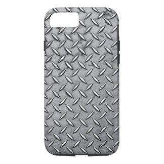 Coque iPhone 8/7 Métal viril de coupe de diamant - regard