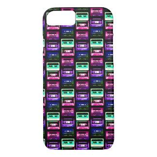 Coque iPhone 8/7 MINI iPhone MULTICOLORE 7 de CASSETTES, à peine là