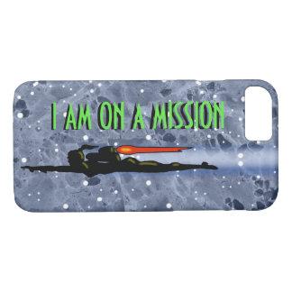 Coque iPhone 8/7 MISSION de FILLE de PAQUET de JET par Jetpackcorps