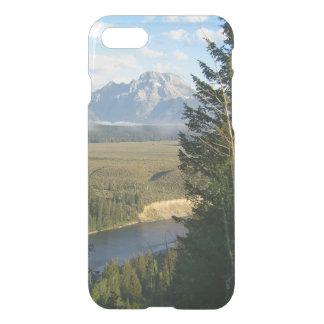 Coque iPhone 8/7 Montagnes et rivière de Jackson Hole