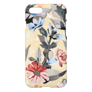 Coque iPhone 8/7 Motif de fleur coloré moderne