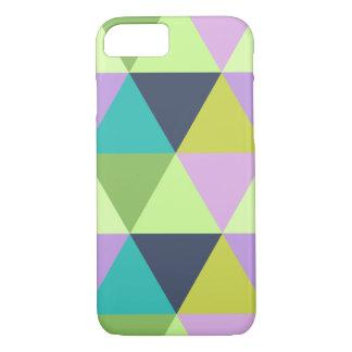 Coque iPhone 8/7 Motif en pastel d'édredon de harlequin léger