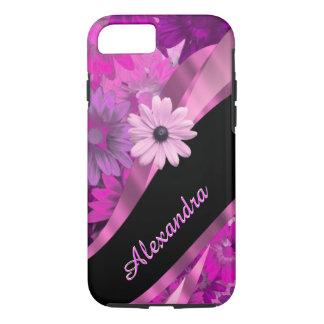 Coque iPhone 8/7 Motif floral assez rose personnalisé