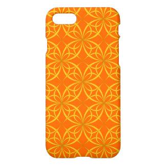 Coque iPhone 8/7 Motif floral orange attrayant