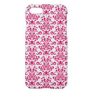 Coque iPhone 8/7 Motif floral rouge élégant