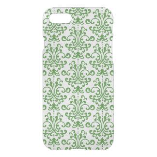 Coque iPhone 8/7 Motif floral vert élégant