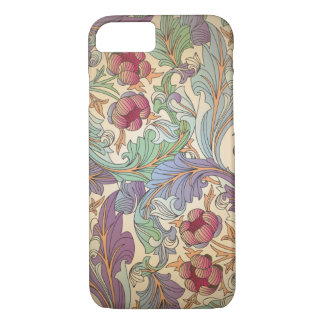Coque iPhone 8/7 Motif floral vintage - 7